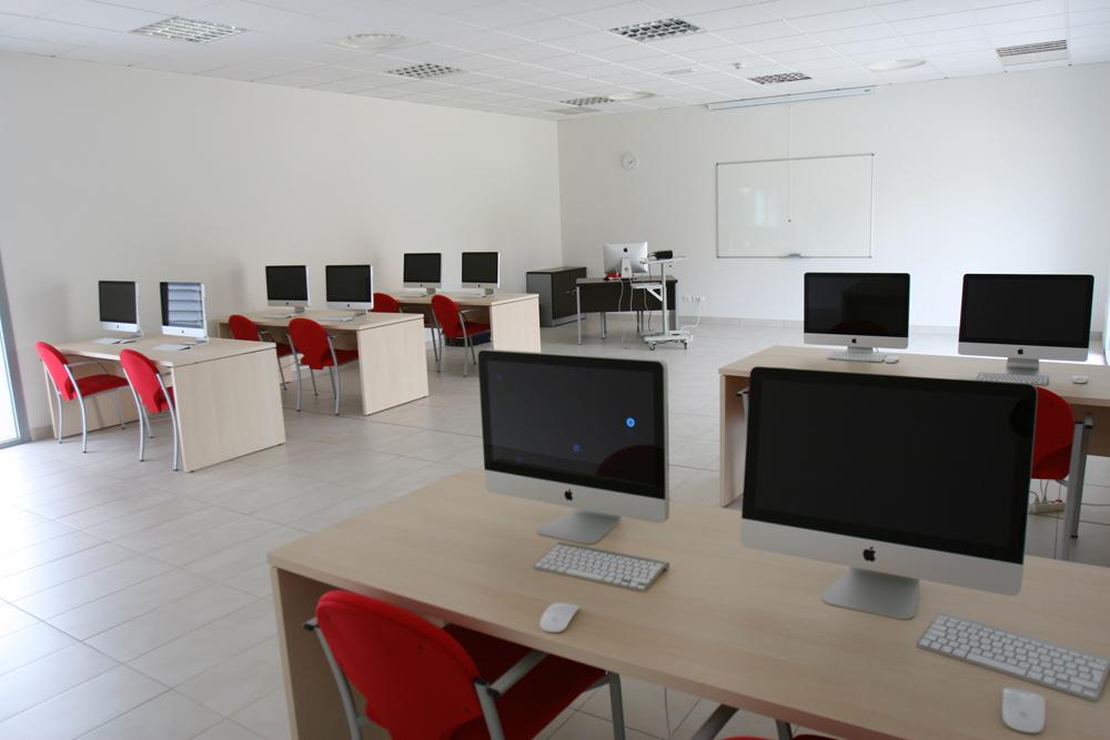 Aula Multimedia de la Caja del Arte de Torrejón