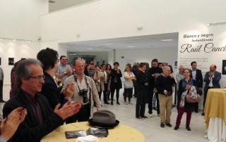 Inauguración de la exposición de Raúl Cancio