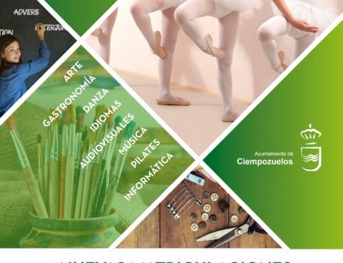 ¡Nuevos cursos, plazas libres y muchas más actividades en Ciempozuelos!