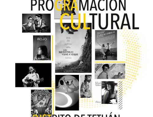 Programación Cultural Distrito de Tetuán