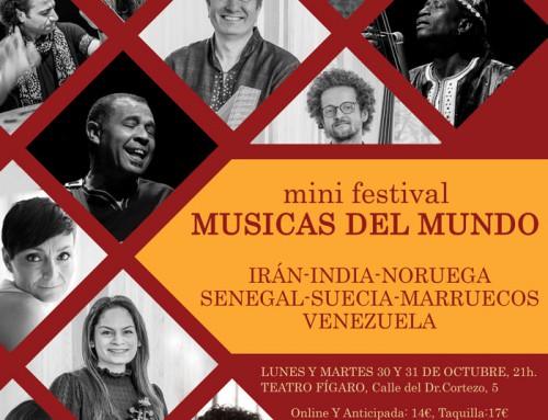 Gran Banda de Músicas del Mundo en Madrid