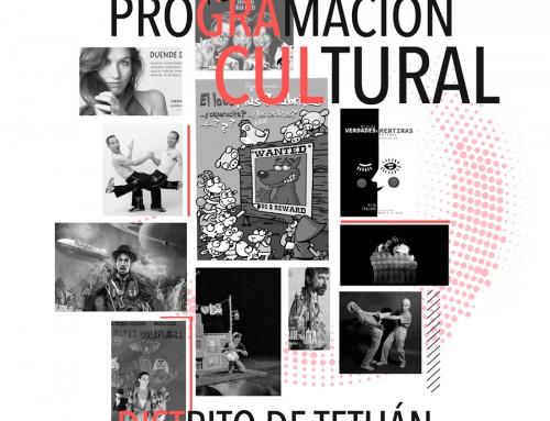 Programación cultural Noviembre 2017 – Distrito de Tetuán –