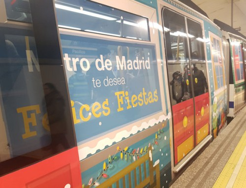 Tren de la Navidad de Metro de Madrid