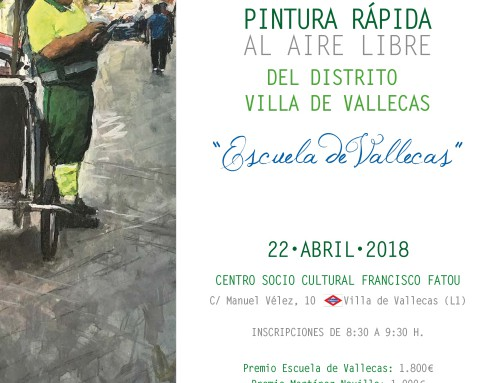 XIII Certamen de Pintura Rápida Escuela de Vallecas