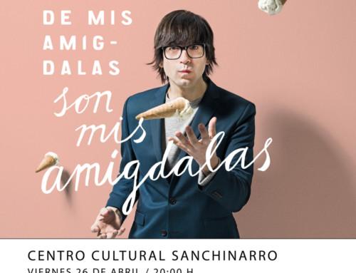En abril Luis Piedrahita en el Centro Cultural Sanchinarro