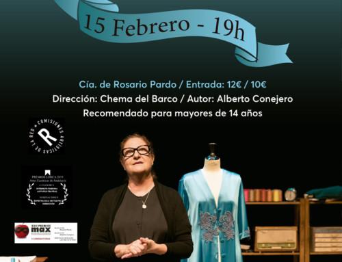 Rosario Pardo protagonista en febrero en C.C. Sanchinarro