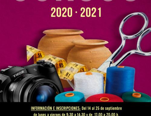 Cursos culturales 2020/2021 en San Fernando de Henares