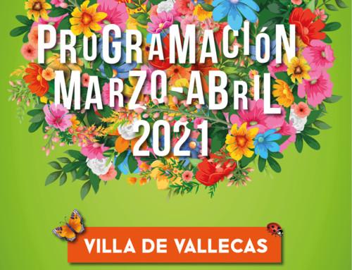 Programación Cultural en marzo y abril en Villa de Vallecas