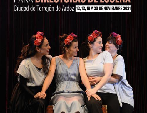 Abierto el plazo para participar en la XXIV edición del Certamen Nacional de Teatro para Directoras de Escena Ciudad de Torrejón de Ardoz