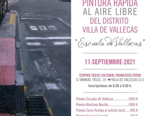 XV Certamen de Pintura al aire libre 'Escuela de Vallecas'